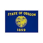 Oregon Rectangle Magnet (100 pack)