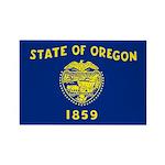 Oregon Rectangle Magnet (10 pack)