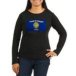 Oregon Women's Long Sleeve Dark T-Shirt