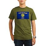 Oregon Organic Men's T-Shirt (dark)