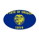 Oregon 38.5 x 24.5 Oval Wall Peel