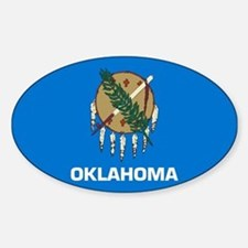 Oklahoma Sticker (Oval)