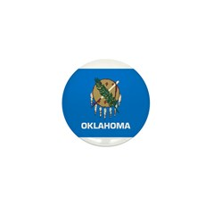 Oklahoma Mini Button (10 pack)
