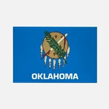 Oklahoma Rectangle Magnet