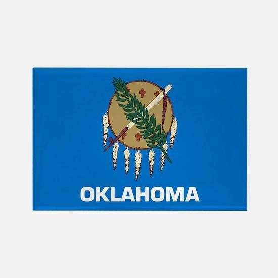 Oklahoma Rectangle Magnet