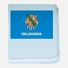 Oklahoma baby blanket