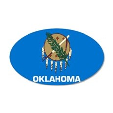 Oklahoma 22x14 Oval Wall Peel