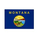 Montana Rectangle Magnet (100 pack)