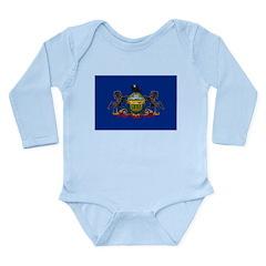 Pennsylvania Long Sleeve Infant Bodysuit