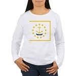 Rhode Island Women's Long Sleeve T-Shirt