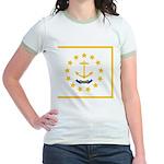 Rhode Island Jr. Ringer T-Shirt