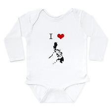 Unique Pina Long Sleeve Infant Bodysuit