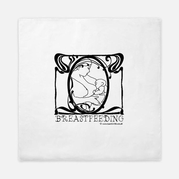 Breastfeeding Queen Duvet