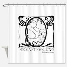Breastfeeding Shower Curtain