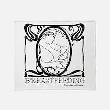 Breastfeeding Throw Blanket