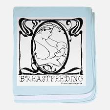 Breastfeeding baby blanket