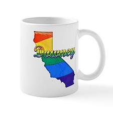 Downey, California. Gay Pride Mug