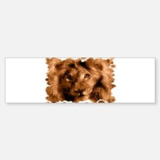 lion Sticker (Bumper)