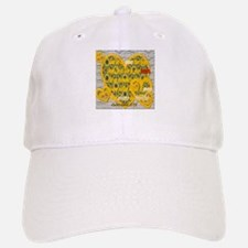 Heart of Gold Baseball Baseball Cap