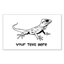 Lizard and Custom Text Decal
