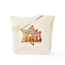 Mummy Milk Rocks Tote Bag