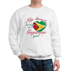 Guyanese Valentine's designs Sweatshirt