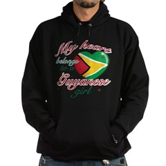 Guyanese Valentine's designs Hoodie