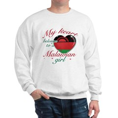 Malawian Valentine's designs Sweatshirt