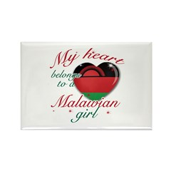 Malawian Valentine's designs Rectangle Magnet