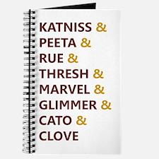 Katniss & Peeta & Rue Journal