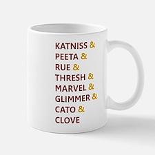 Katniss & Peeta & Rue Mug