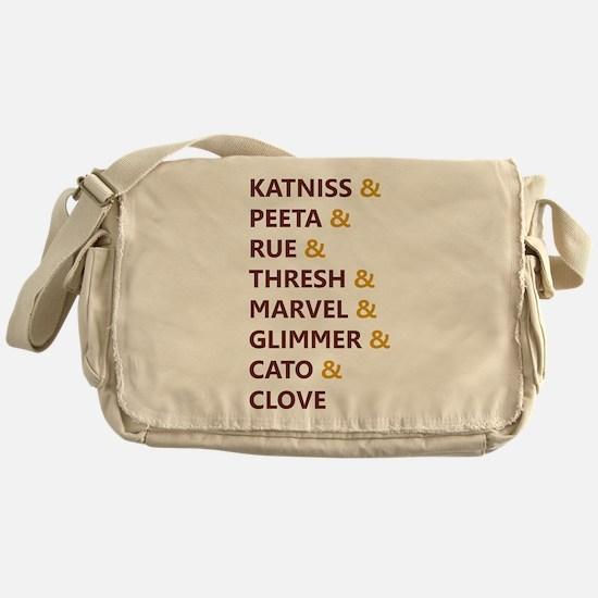 Katniss & Peeta & Rue Messenger Bag