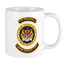 US - NAVY - USS America Mug