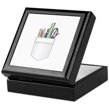 Pocket Protector Keepsake Box