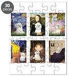 Maltese Famous Art (clr) Puzzle