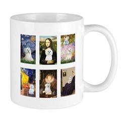 Maltese Famous Art (clr) Mug