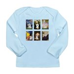 Maltese Famous Art (clr) Long Sleeve Infant T-Shir