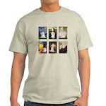 Maltese Famous Art (clr) Light T-Shirt
