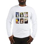 Maltese Famous Art (clr) Long Sleeve T-Shirt
