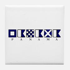 Nautical Panama Tile Coaster