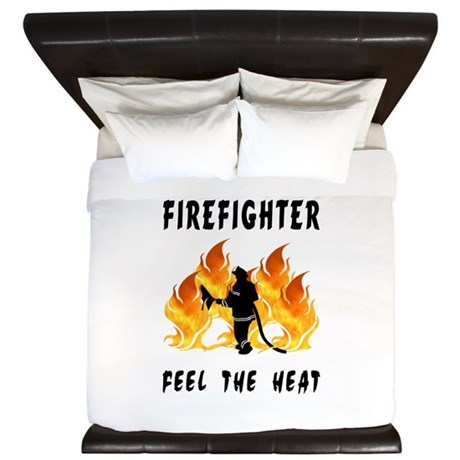 Firefighter Heat King Duvet