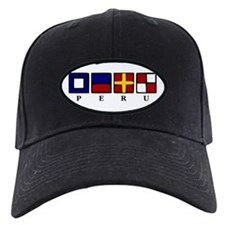 Nautical Peru Baseball Hat