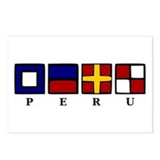 Nautical Peru Postcards (Package of 8)