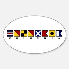 Nautical Colombia Decal