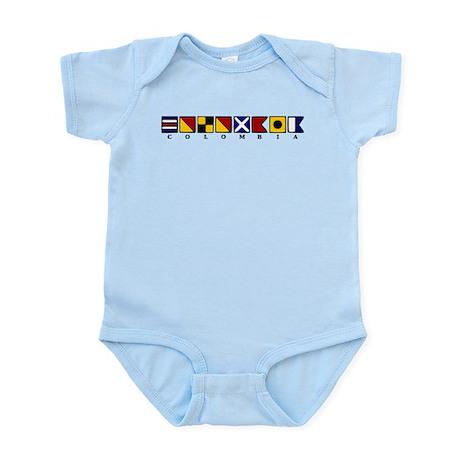 Nautical Colombia Infant Bodysuit