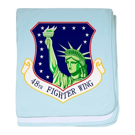48th Fighter Wing baby blanket