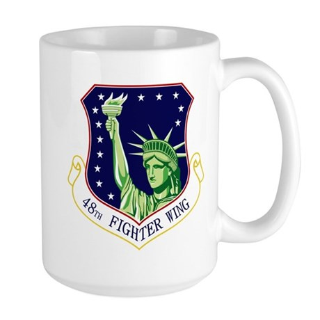 48th Fighter Wing Large Mug