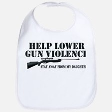 Dad's Gun Violence Bib