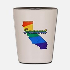 Fremont, California. Gay Pride Shot Glass