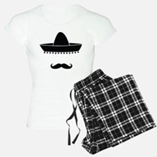 Mexican moustache Pajamas